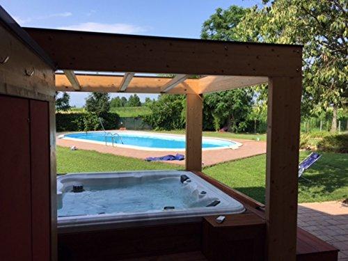 Vasche Da Bagno Zen : Minipiscina vasca idromassaggio spa zen eco da esterno 220x220 cm