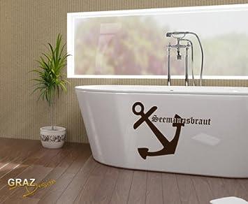 Wandtattoo Deko Für Bad Sprüche Badezimmer Wanddekoration ... Badezimmer Wanddekoration
