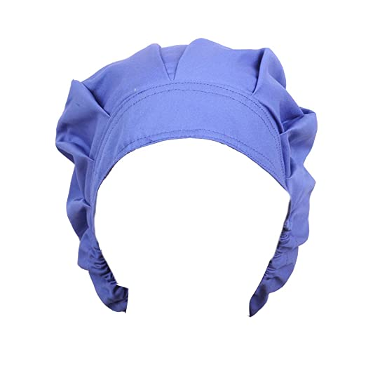 Opromo Womens and Mens Sweatband Scrub Cap Scrub Hat with Adjustable tie