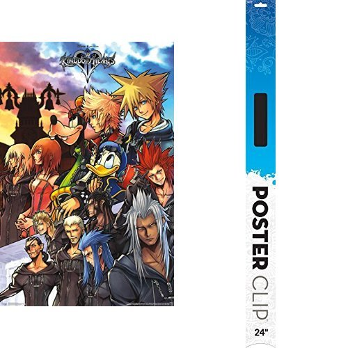 (Trends International RP15139 Wall Poster Kingdom Hearts Group Wall Poster,,22.375