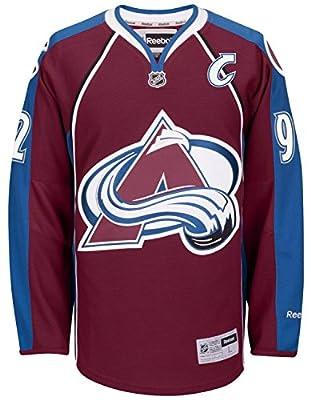 Gabriel Landeskog Colorado Avalanche Reebok NHL Premier Burgundy Jersey