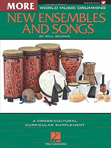 World Music Drumming: More New Ensembles and Songs Bk/Online Audio