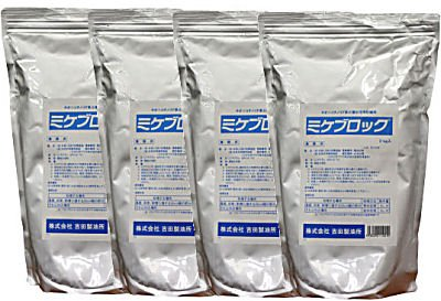 シロアリ駆除用 土壌処理用防蟻剤ミケブロック業務用 2kg×4袋入 B01H1EECJC