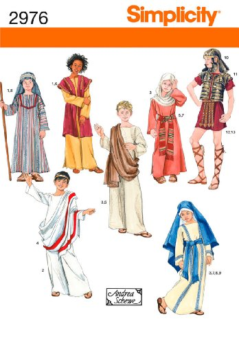 Eastern Costume Girl Middle (Simplicity Sewing Pattern 2976 Boy and Girl Costumes, A)