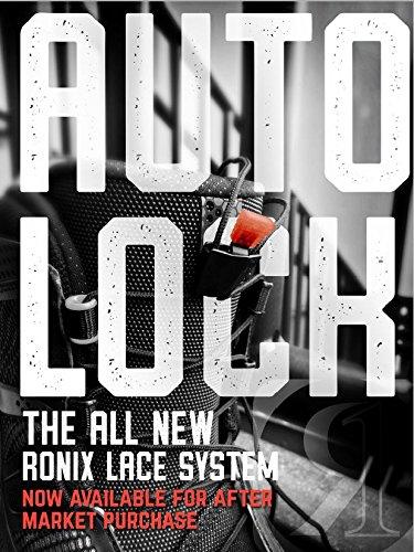 Ronix AutoLock Kit - Black (set of 4 Laces and AutoLocks)