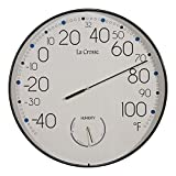 La Crosse Technology T88495 10'' Round in/Out Wall Thermometer