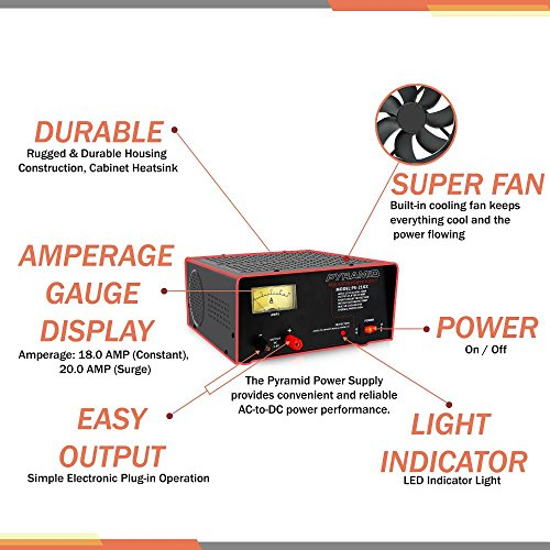 pyramid-bench-power-supply-ac-to-dc-power-converter-18-amp-power-supply-with-amperage-gauge-display-ps21kx