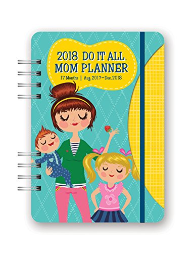 Orange Circle Studio 2018 Do It All Planner  Aug  2017   Dec  2018  Moms Do It All