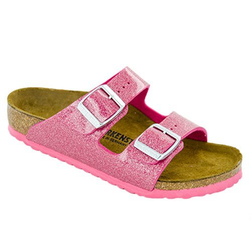Price comparison product image Birkenstock Arizona Birko-Flo Magic Galaxy Rose Sandals - 28 M EU/10-10.5 M US Toddler