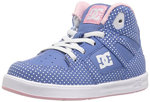 Se Toddlers Blue Print Sneaker Dc Ul Rebound white Bambini v7WqS