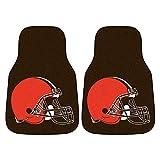 cleveland car floor mat - FANMATS NFL Cleveland Browns Nylon Face Carpet Car Mat
