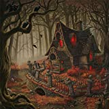 Clearance Sale 5D Diamond Painting Rhinestone Forest Haunted House Weird Halloween Large Size Embroidery Wallpaper DIY Wall Sticker by Number Kits Full Drill Kits Full Drill Cross Stitch Arts 40X40cm