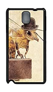 Fashion Style With Digital Art - Worker Bee Skid PC Back Cover Case for Samsung Galaxy Note 3 N9000