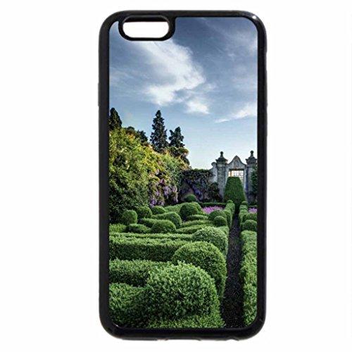 iPhone 6S / iPhone 6 Case (Black) wonderful mansion garden