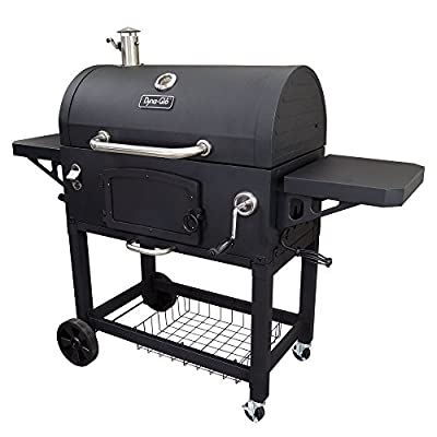 Dyna-Glo DGN576DNC-D Black Charcoal BBQ Grill from GHP-Group Inc