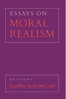 com essays in quasi realism simon  essays on moral realism cornell paperbacks