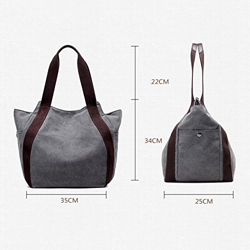 Canvas Bag Bag Casual Retro Body Cross Shoulder Hobo White Tote Bag Messenger Bags Bag DCRYWRX Women Bags ApEqUUw