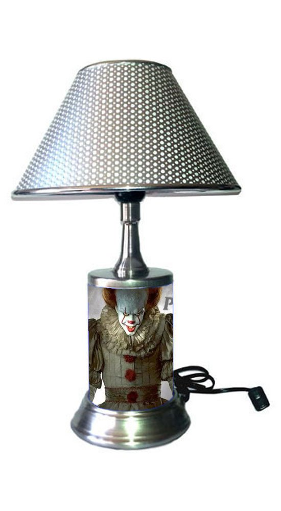 JS Pennywise Lamp Chrome Shade, Movie IT