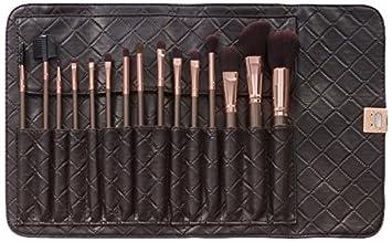 rose makeup brushes amazon. bh cosmetics 15 piece rose gold brush set makeup brushes amazon m