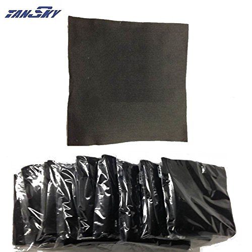 Carbon Fiber Welding Blanket Torch Shield Plumbing Heat Sink Fire 18''x18'' x1/4 For FORD MUSTANG GT/SVT V8 AT TK-WRMB18I