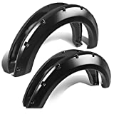 07 f150 fender flares - Ford F-150 Grain Textured Pocket-Riveted Style Side Fender/Cover/Protector Wheel Flares (Black)