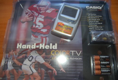 Casio TV-970 LCD Pocket Television