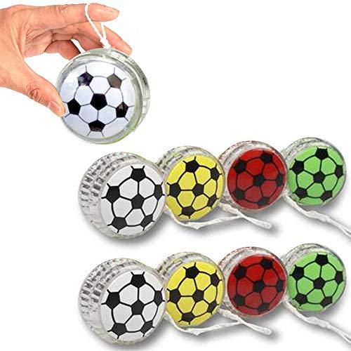 - 8 X Yo Yo Sports YoYo Soccer Ball Party Favor Toy Children Games Kid Boy Fun