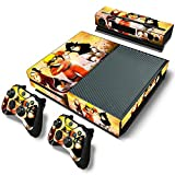 Mod Freakz Console and Controller Vinyl Skin Set - Ninja Naruto Uzumaki for Xbox One