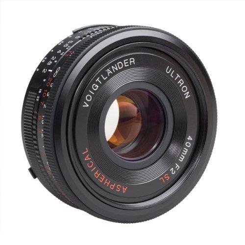 Voigtlander Ultron 40mm f/2 SL-II Aspherical Compact Pancake - Voigtlander Nikon Lens