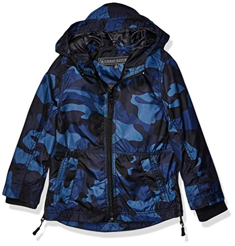 Urban Republic Toddler Boys MESH CAMO Jacket, Navy, 2T