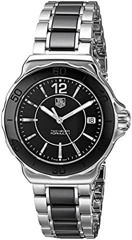 TAG Heuer Women's WAH1210.BA0859 Formula One Watch (Tag Heuer Women Black)