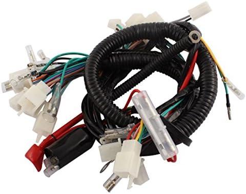 Sourcingmap Cg125 Moto Kit Completo Conector Fusible Eléctrico ...