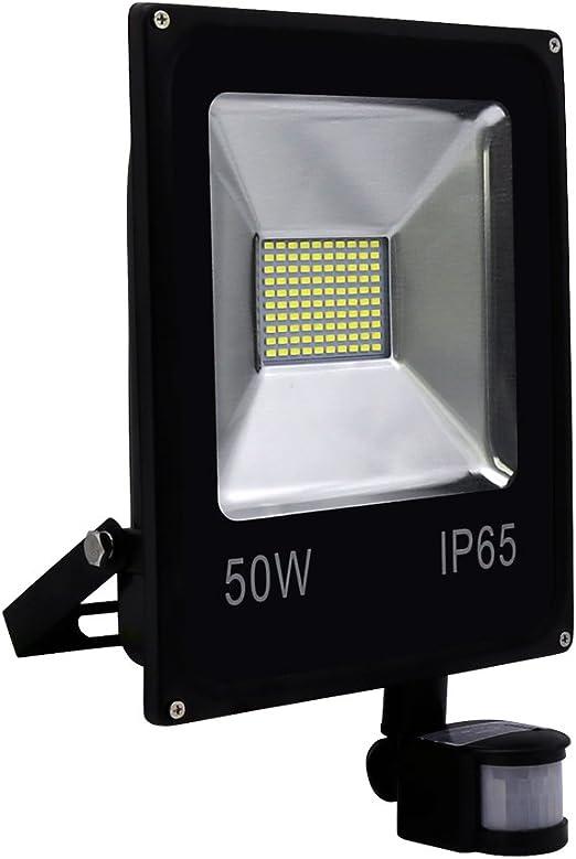 Hengda® Blanco Cálido Foco proyector Exterior LED detección de ...