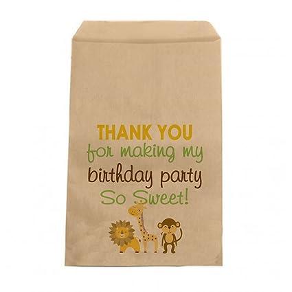 Amazon.com: Selva – Candy Bolsas de cumpleaños niños ...