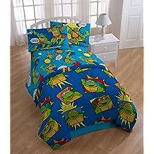 Ninja Turtles Twin Bedding Team TMNT Comforter Sheets