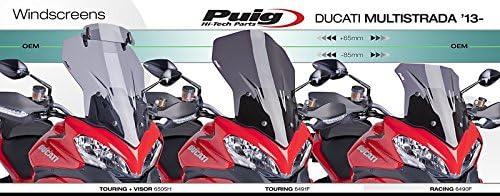 Bulle HP pour Ducati Multistrada 1200//S 13-14 Clair Puig 6491w
