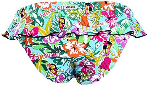 Onades by Redpoint, Mujer, Bikini braga Onades, Cadera, Aloha, Estampado figurativo Multicolor