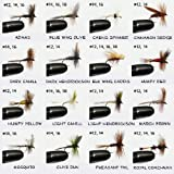 Barnsley 100 Assorted Dry and Nymph Fly Fishing Flies