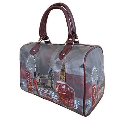 London SELLER Bag Barel Collage BD013 UK PAxHq1H