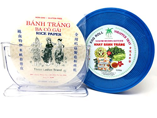 vietnamese rice paper water bowl - 1