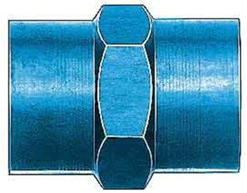 Aeroquip FCM2131 Blue Anodized Aluminum 3/8