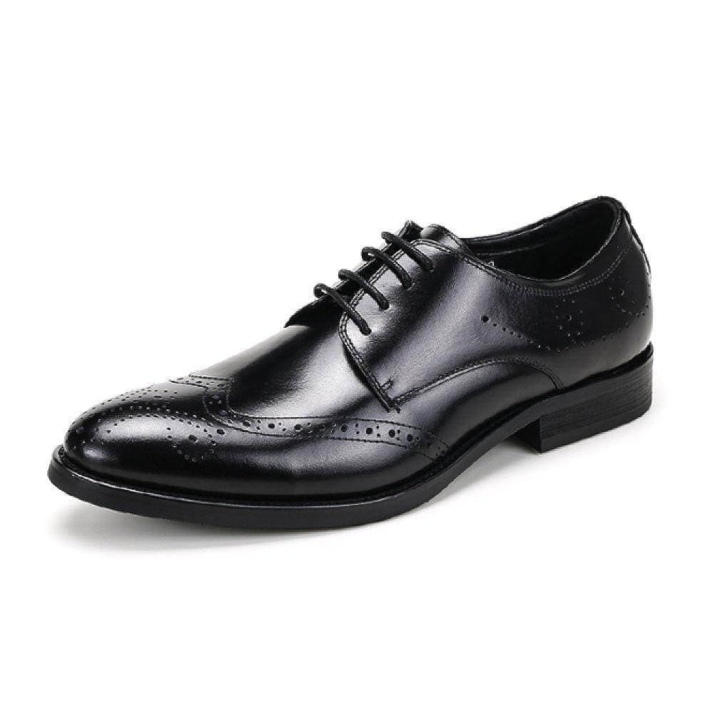 NIUMJ Schuhe der Sommermänner Beschuht Schuhe Schützende Breathable Schuhe der Britischen Geschäftsleute