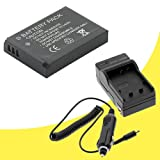 Olympus FE-4020 Digital Camera LI-70B Battery and Wall Charger with Car Charger Adapter DavisMAX FE4020 LI70B Battery Charger Bundle