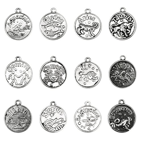 Zodiac Charm Pendant Jewelry - 1