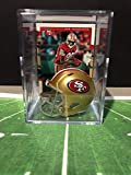 San Francisco 49ers NFL Helmet Shadowbox w/Jerry