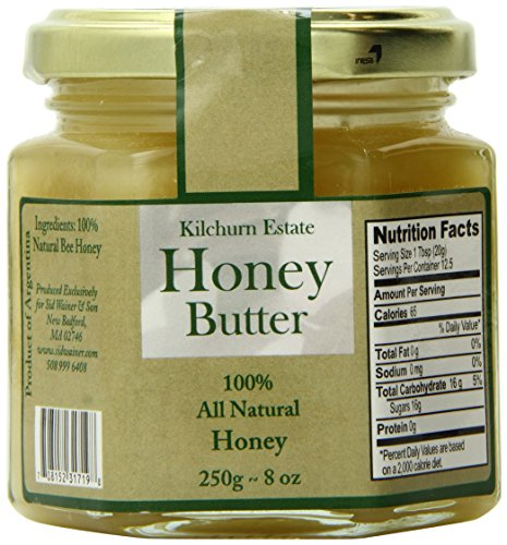 Honey Butter Spread - Kilchurn Estate Honey Butter, 8.8 Ounce