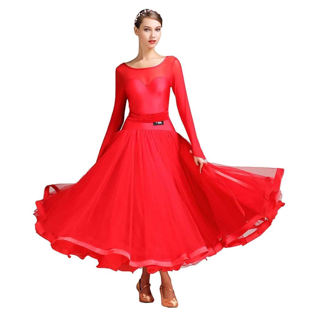 格安新品  モダンダンススカートドレス l、アダルトコスチュームパフォーマンスウェア B07HMPX4TY L L l|レッド レッド B07HMPX4TY L l, TOKI ポケットチーフ:b0ce231c --- a0267596.xsph.ru
