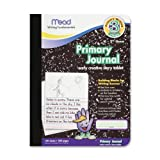 "Mead Primary Journal, Narrow Ruled, 9-3/4""x7-1/2"", WE Paper/BK Cvr"