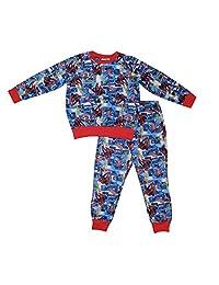 2 PCS SET MARVEL COMICS SPIDERMAN Boys Fall / Winter Pajama Top & Pants Set