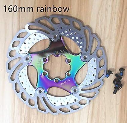 Yunhine Mountain Bike Floating disc six-pin Brake disc 160mm 180mm Brake pad